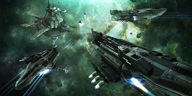 Fleet of Coraxes